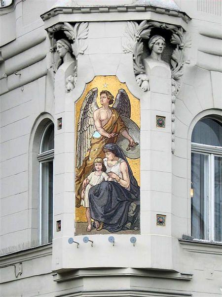Art Nouveau ~ József Attila utca 24 (1905) ~ Conservatory of Music - Budapest