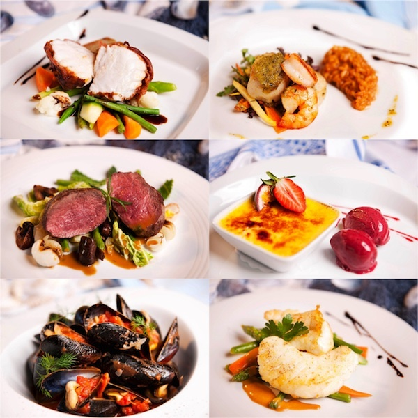 Restaurant Sjøhuset - Selected dishes