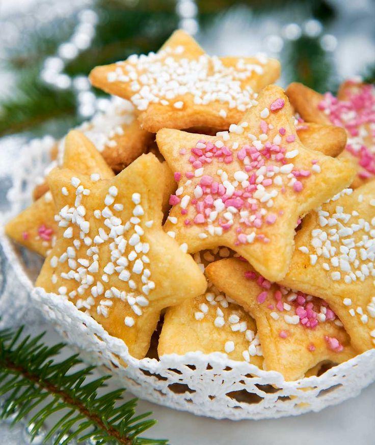 Mormors julkakor | Barnsligt goda julstjärnor