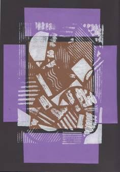 Mozaika - tisk z koláže