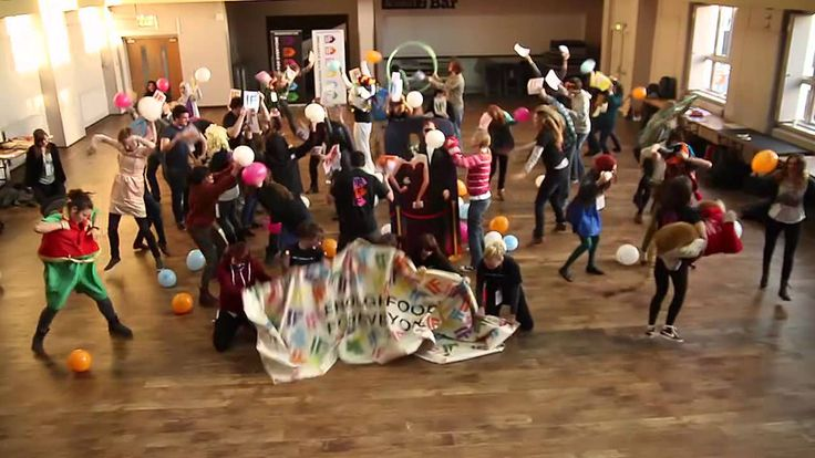 The harlem shake for charity