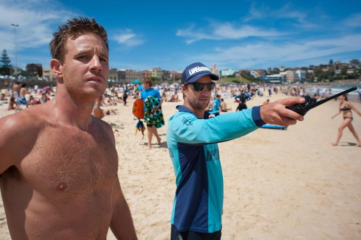 """Whippet and Chappo, my two favorite lifeguards on """"Bondi Rescue""""."""