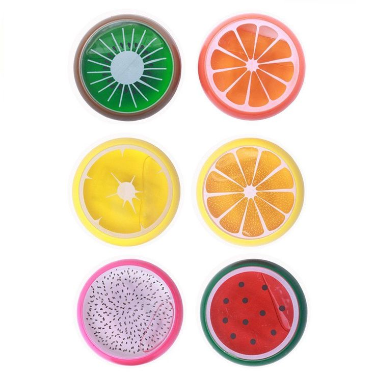 6 Colors Fruit Putty Toys,Kids Magic Slime Toys,For All Your Glue Putty Making N