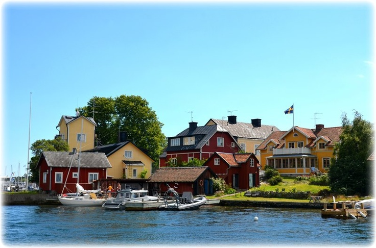 Stockholms skärgård en varm sommardag. #stockholm #skärgård
