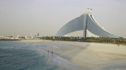 Modern architecture in The United Arab Emirates - Moderne arkitektur i De Forente Arabiske Emirater   - KILROY http://travels.kilroy.no/destinasjoner/midtosten/forente-arabiske-emirater