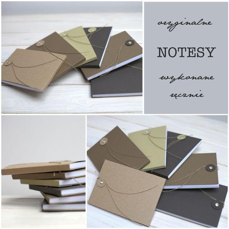 notebooks - handmade