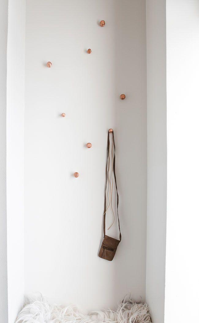 Daniella Witte - Snazzy little wall hooks.