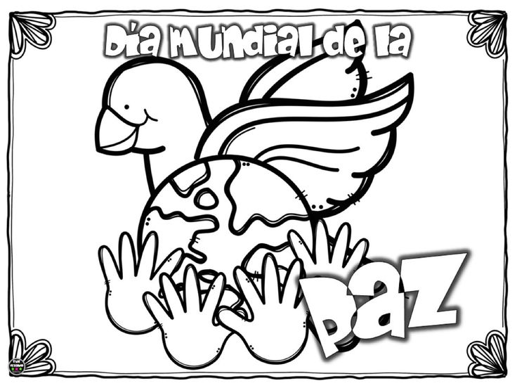 Libreta Para Niños Con 25 Dibujos Para Colorear: Más De 25 Ideas Increíbles Sobre Dibujos De Palomas En