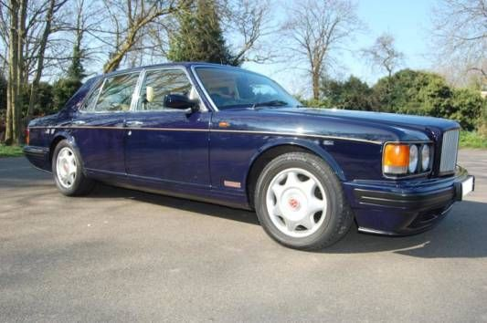 Used 1997 (R reg) Blue Bentley Turbo R 4dr for sale on RAC Cars