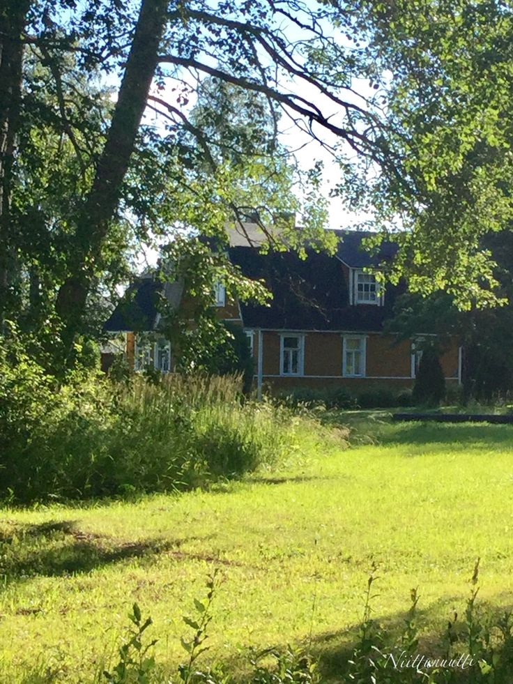 P-J, one of my dream houses when I was young - still fascinating. Rajamäki, Finland