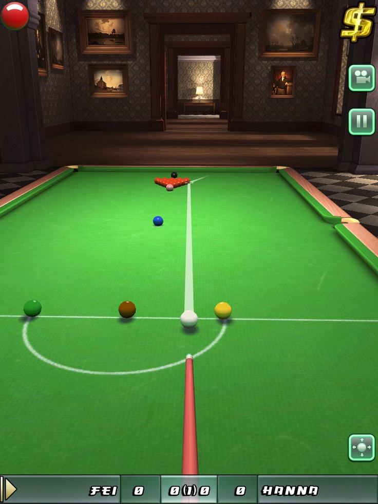 Kostenlos Snooker auf seinem iOS-Gerät spielen