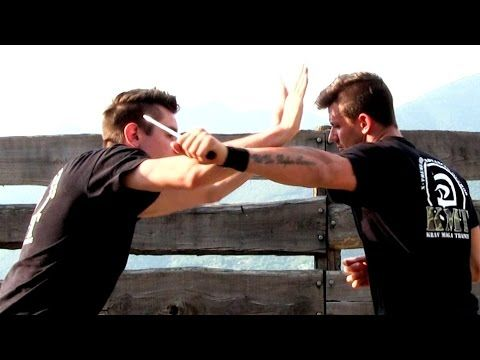 Krav Maga Training is based on military techniques, and it's the most effective close quarter combat system ever. Learn how to fight to protect yourself: str...