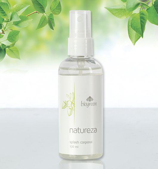 Este exquisito splash corporal combina frescas y delicadas notas que perfuman alegremente tu piel dejando una agradable sensación de bienestar.  Presentación: 100 ml.