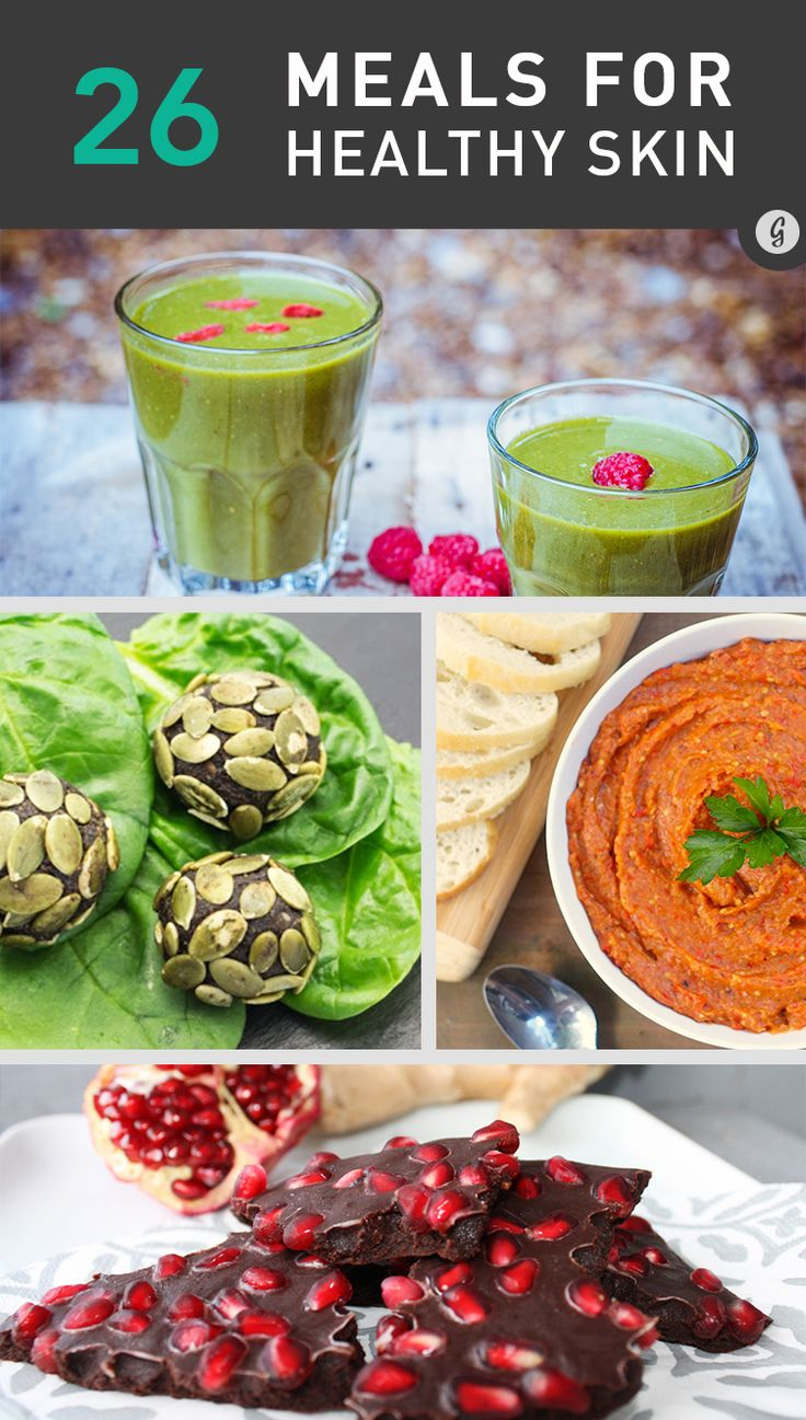 Eat Your Way to Clear, Healthy Skin With These 26 Meals #skincare #health #wellness