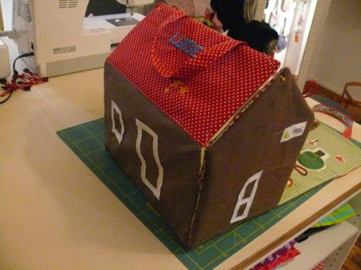 cocoschock: DIY: Spielhaus nähen