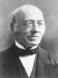 William Lloyd Garrison, Abolitionist, Pacifist, Editor of The Liberator