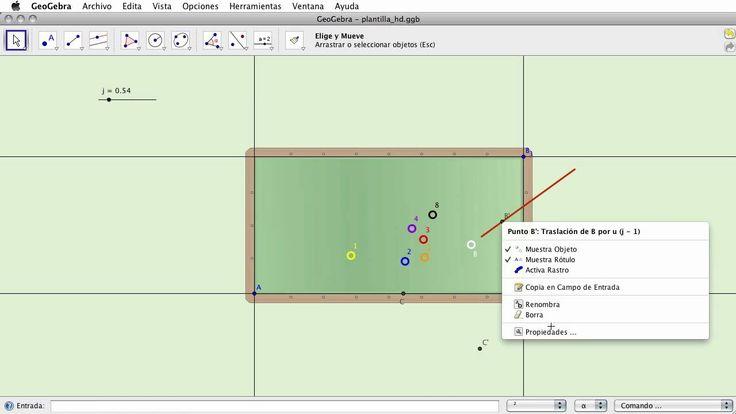 Animaciones compuestas: Geometria del pool