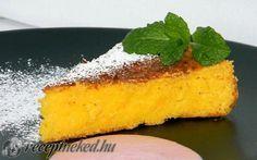 Citromos kukoricadara torta recept fotóval