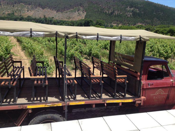 Rickety Bridge wine farm