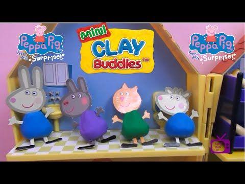 Peppa Pig. Clay Buddies.