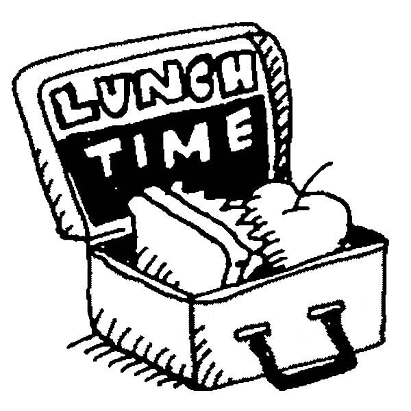 Pages For Preschool Lunch Box Coloring Pages