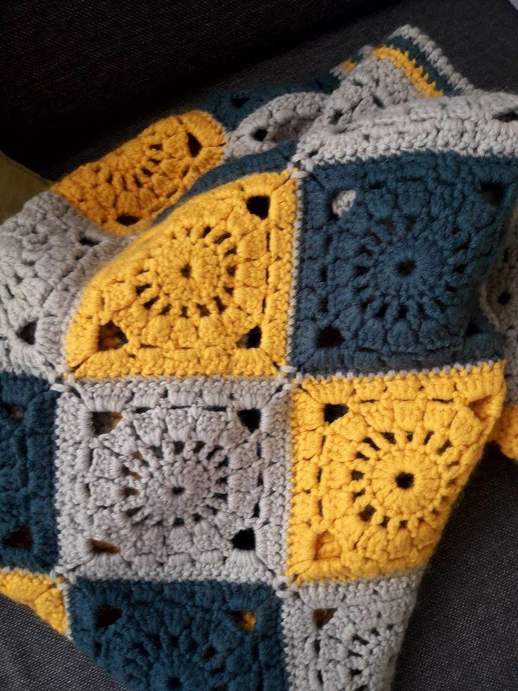 Klicke Um Das Bild Zu Sehen Tuto Couverture Au Crochet En