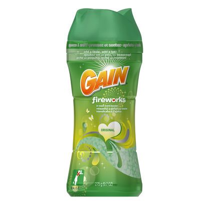 Gain Fireworks In Wash Scent Booster - 9.7 oz