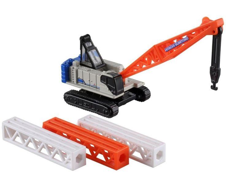 Takara Tomy Tomica Series No. 127 Crane Crawler Crane SCX 900-3 Japan #TAKARATOMY
