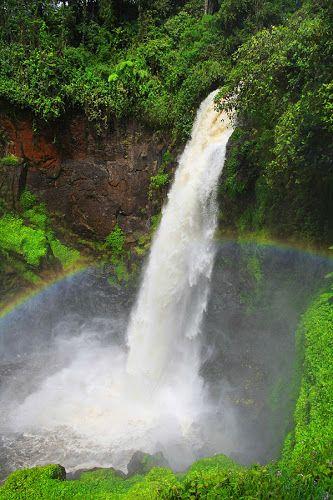 Telun Berasap waterfall, Kerinci, Jambi, Indonesia www.nusatrip.com/id/tiket-pesawat/ke/jambi_DJB #jambi #waterfall #indonesia #destination #travel #travelingideas #asia