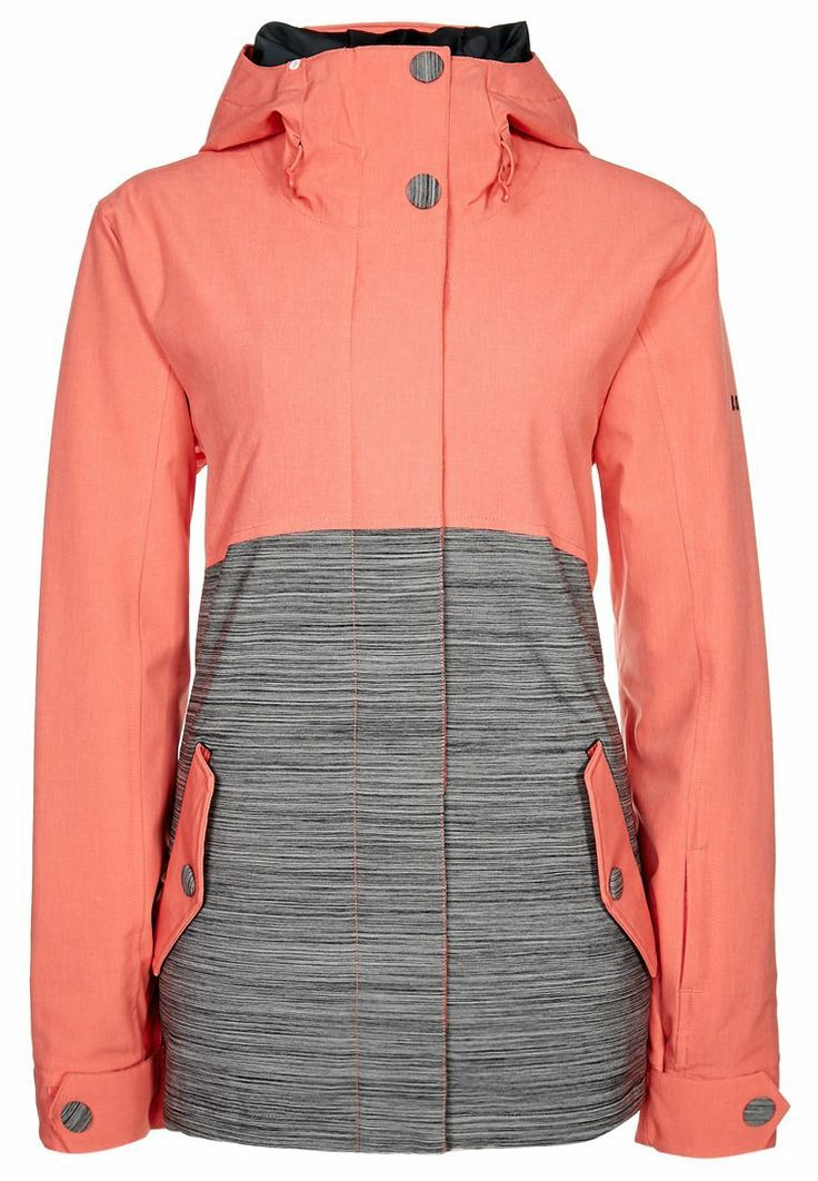 Roxy - FAST TIMES - snowboard and skiing jacket - hot coral