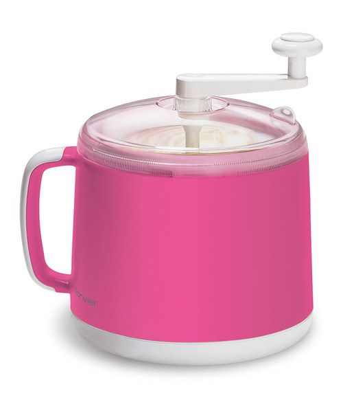 Look what I found on #zulily! Pink Donvier Ice Cream Maker by Cuisipro #zulilyfinds