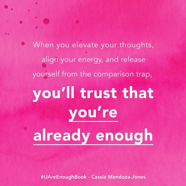 Elevate your thoughts, align your energy & release yourself from the comparison trap