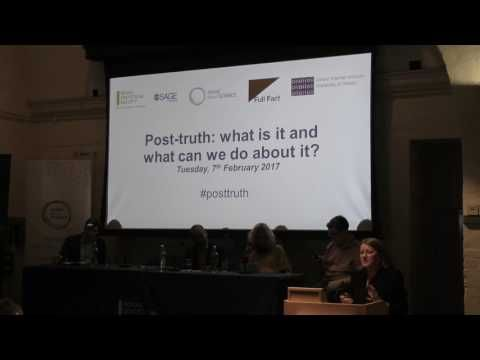 » What is 'Post-Truth'? What Can We Do About It? The Sociological Imagination
