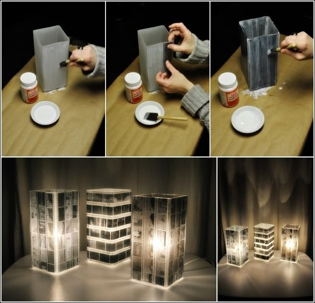 Turn Old Photo Negatives into an Amazing Lamp