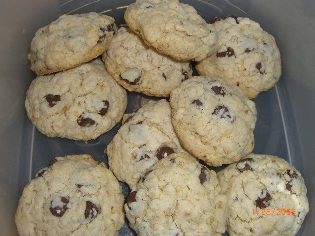 Chocolate Chip Egg Free Cookies -- use brown sugar instead of powdered.  Verdict -- it was very yummy, but too crumbly to serve to kids.  Would be good with/mixed in icecream