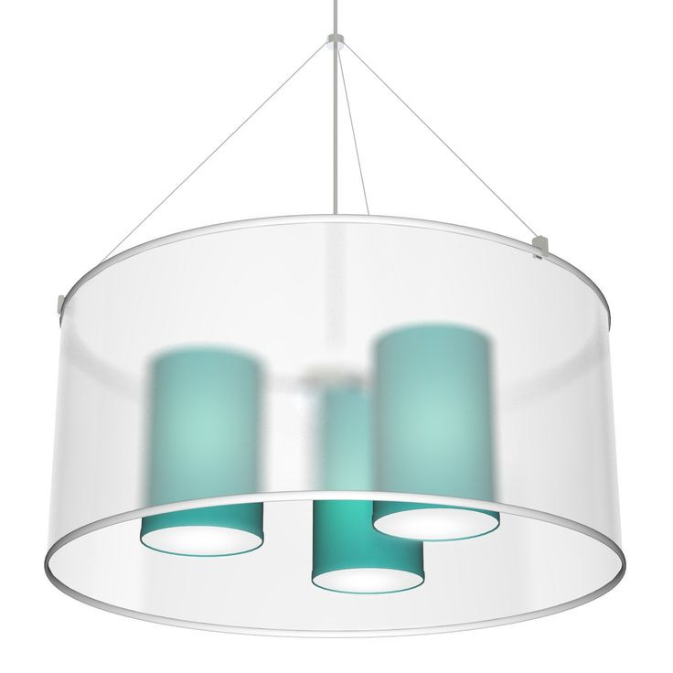The Three In One Pendant Light Is Multi Drum That Offers Elegance And A Splash