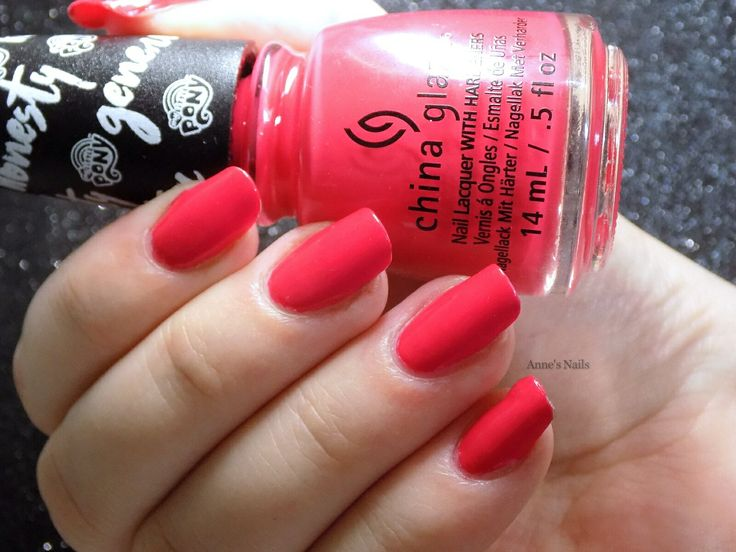 China Glaze 'AppleJack™ Of My Eye' from the My Little Pony collection.