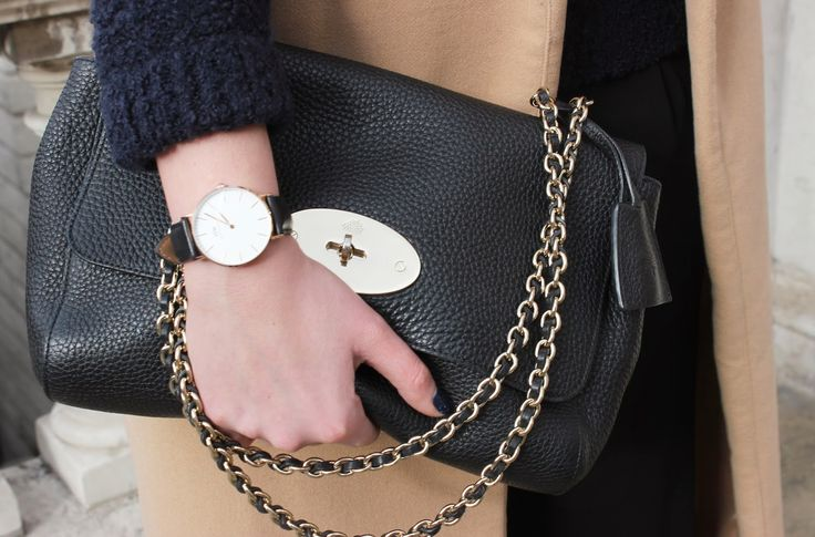 My beloved Mulberry Lily bag and Daniel Wellington watch!