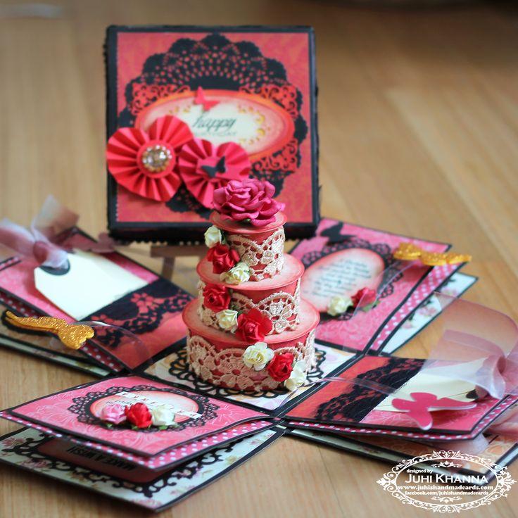 ... handmade papercrafts card handmade x5 x5 3 layered dcwv forward