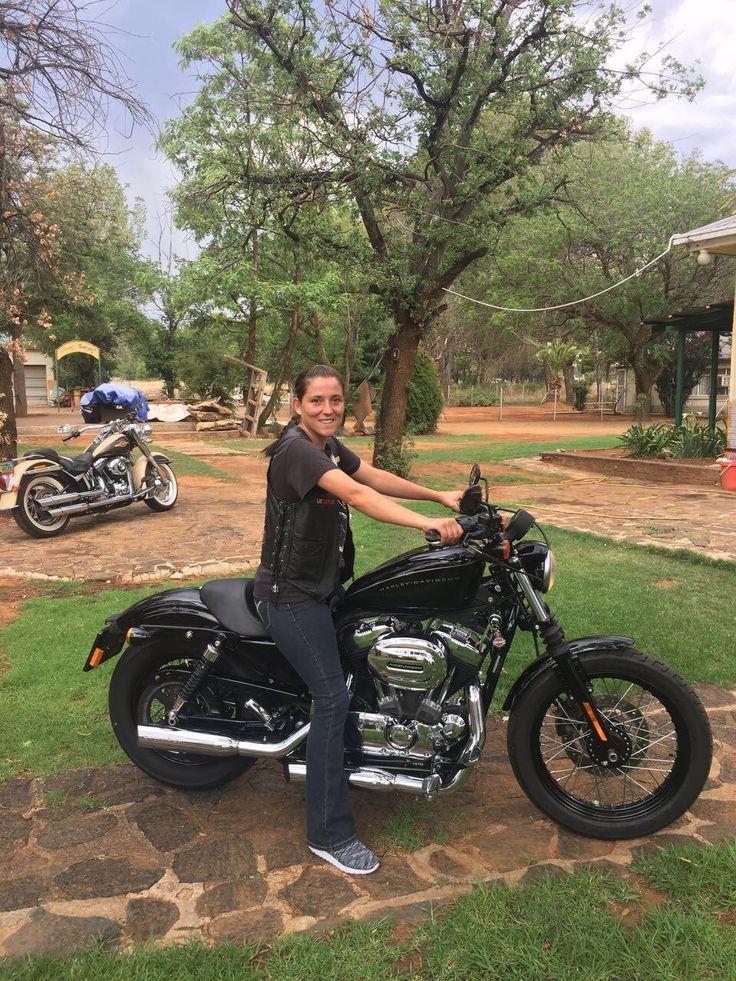 Ronel's new HarleyDavidson