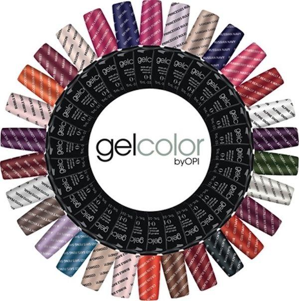 Beautymerk OPI lanceert een gel manicure service met een lijn van 30 kleuren.