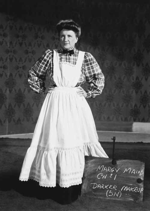 Marjorie Main costume test for Meet Me in St. Louis (1944)