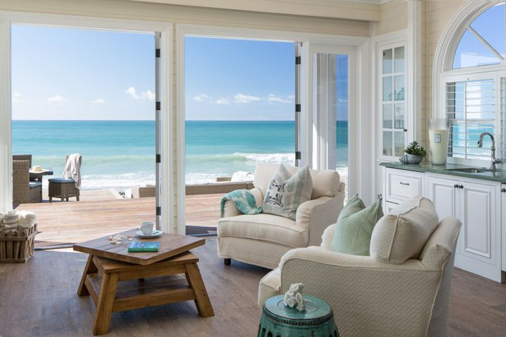 My jaw seriously dropped when I saw this incredible beachside home in Dana Point, California! Designed by Kelly Ferm, the principal designer of Kelly Ferm Inc. and owner and curator of 707 Circle Lane