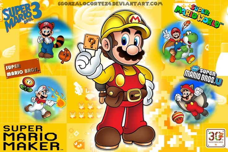 .SUPER MARIO MAKER. by on