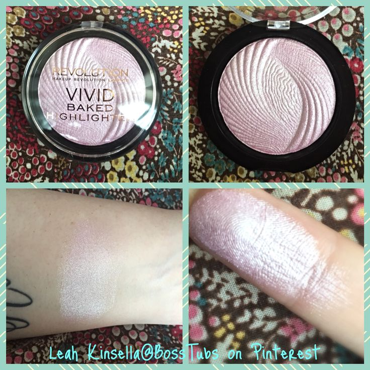 Lovely highlighter for very fair skinned ladies like myself: Makeup Revolution Vivid Baked Highlighter in Pink Lights. Looks to me like a reasonable dupe for Mac Baked blush/highlighters like Shimpagne or Soft & Gentle. Worth checking out; only £3 from Superdrug!