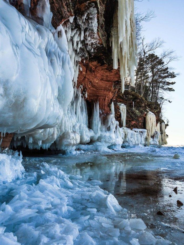 2. Apostle Islands - 12 spots to explore in WI Winter