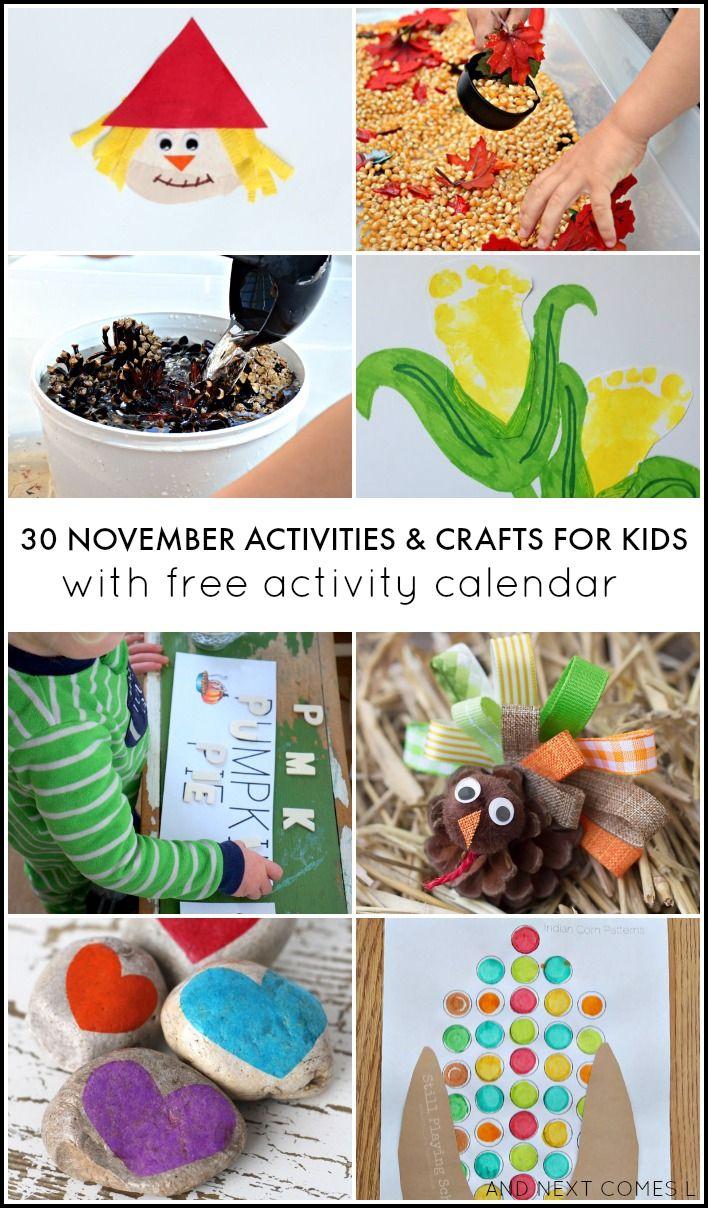 November Calendar Ideas : Ideas about november crafts on pinterest kids
