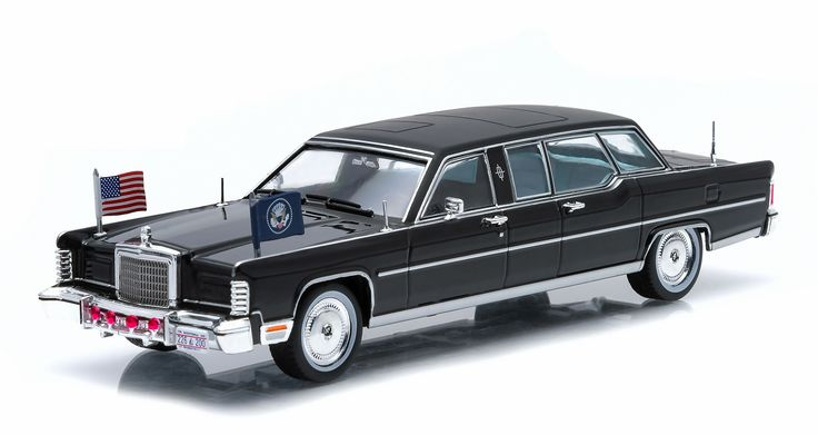 Presidential Limos Series 1 - 1972 Lincoln Continental Ronald Regan by Greenlight