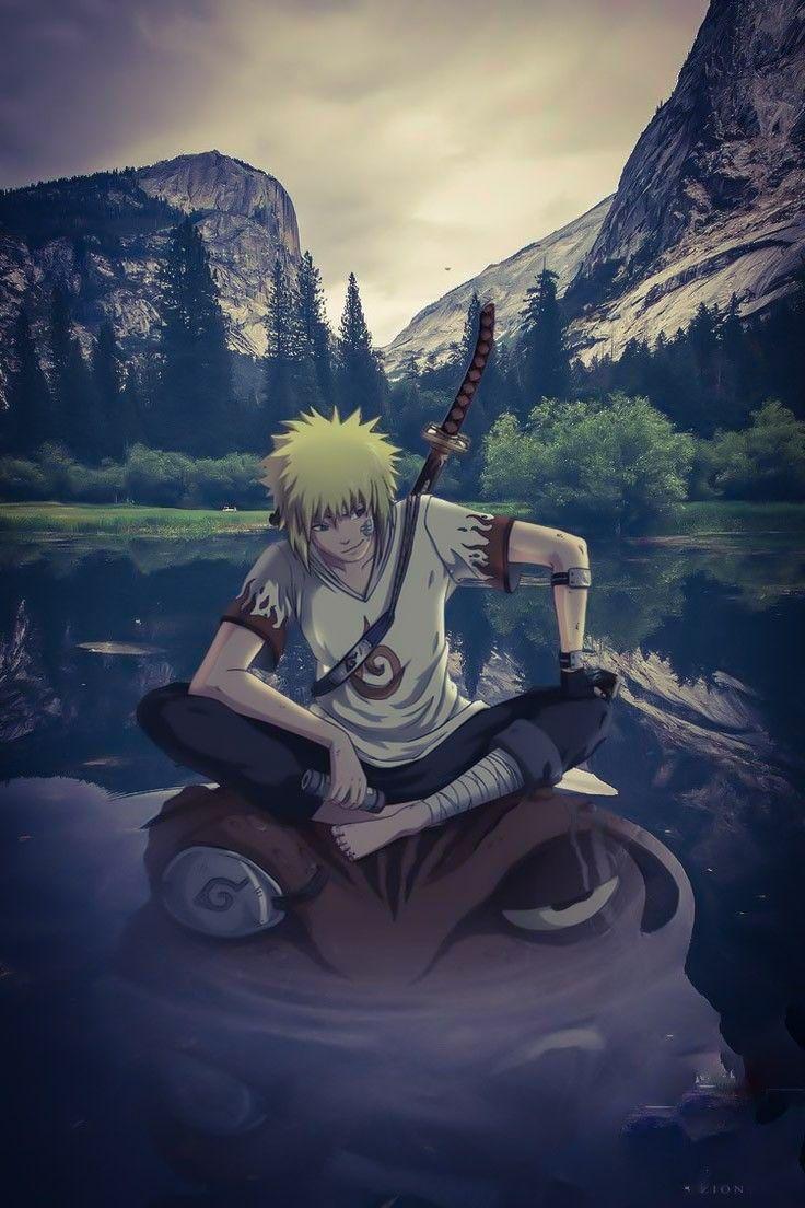 Minato Namikaze Arte Naruto Anime Naruto Minato E Naruto