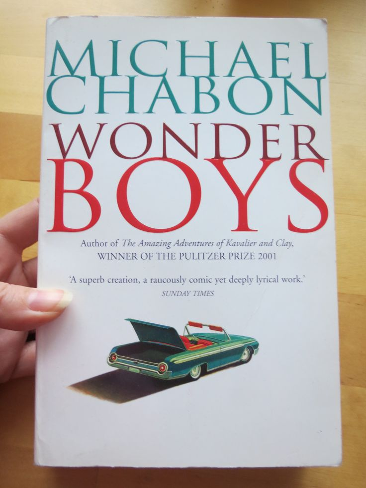 wonder boys by michael chabon Michael chabon's wonder boys is one of those novels and grady tripp, its complicated and wonderful narrator, is one of my favorite storytellers.